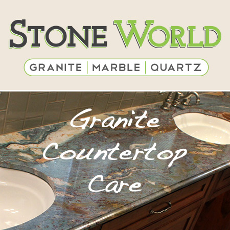 Three Rules for Proper Granite Bathroom Countertop Care