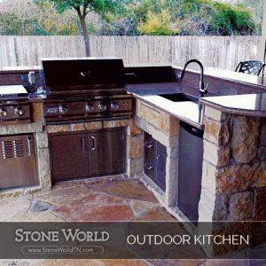 StoneWorld Outdoor Kitchen